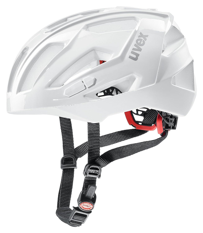 uvex(ウベックス) ヘルメット quatro xc JCF公認 ドイツ製 4107510317 ホワイト 56-61cm   B075MHTK25