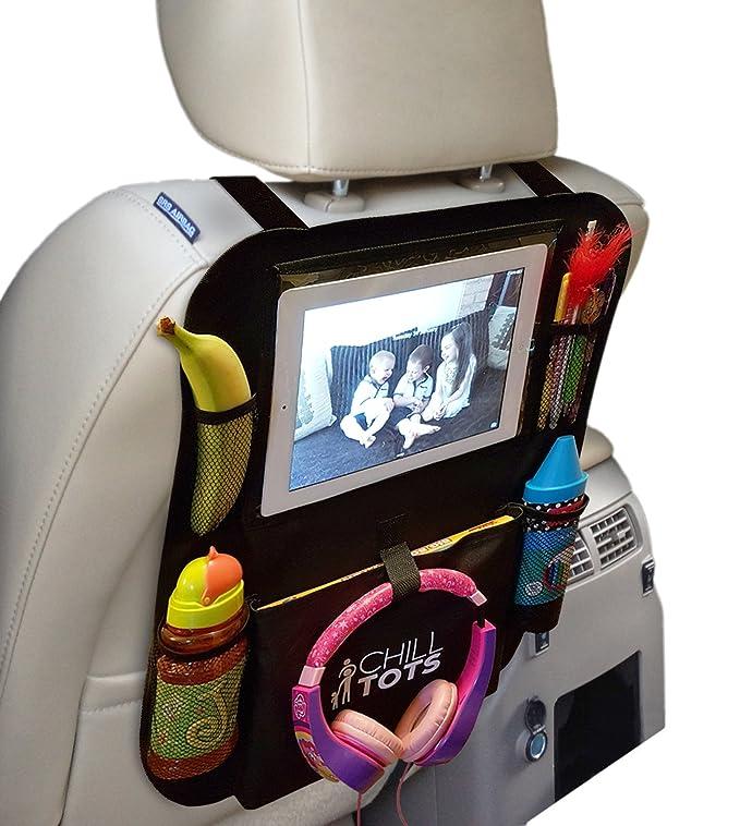 """2 opinioni per Chill Tots,portaoggetti sedile per auto con tasca per iPad/tablet da 10,1"""""""