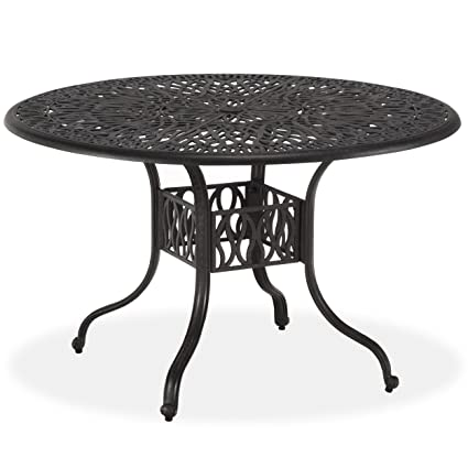 Amazon home styles floral blossom round dining table 42 inch home styles floral blossom round dining table 42 inch charcoal watchthetrailerfo
