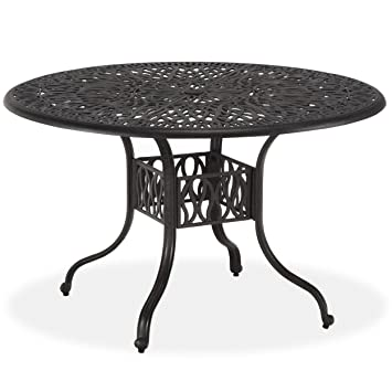 Amazoncom Home Styles Floral Blossom Round Dining Table 48