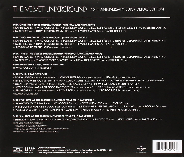 The Velvet Underground - The Velvet Underground - 45th Anniversary ...