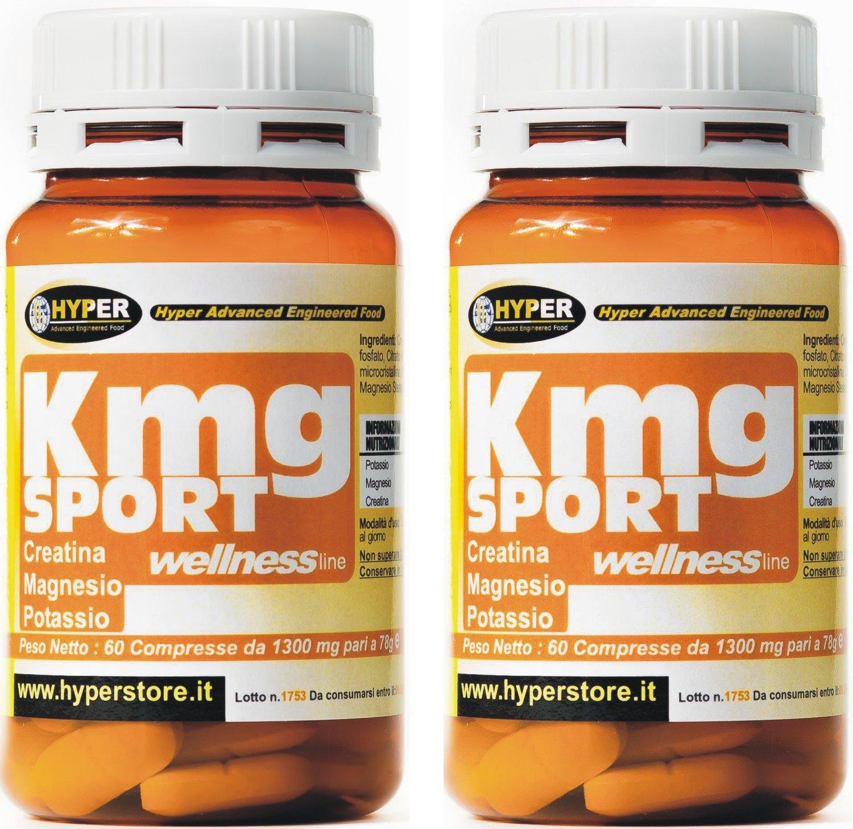 2 paquetes de 60 comprimidos Creatina Magnesio Potasio mayores de energía menos fatiga 60 CPR ¿Cansado? Usted está sujeto a sufrir calambres ? Suda mucho ?