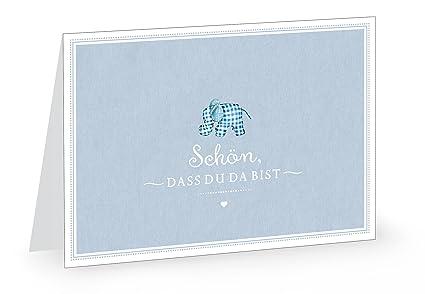 1 tarjeta de felicitación de nacimiento