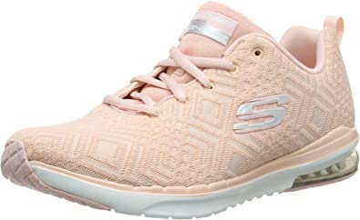 Skech Air Shoes in Rose Pink