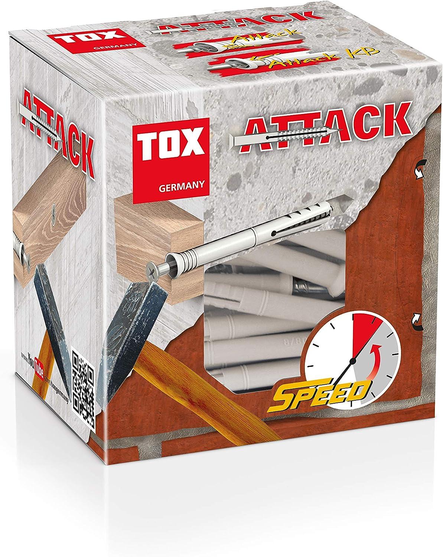 Tox Cheville à Frapper Attack 8 X 100 Mm 50 Pièces 017102241