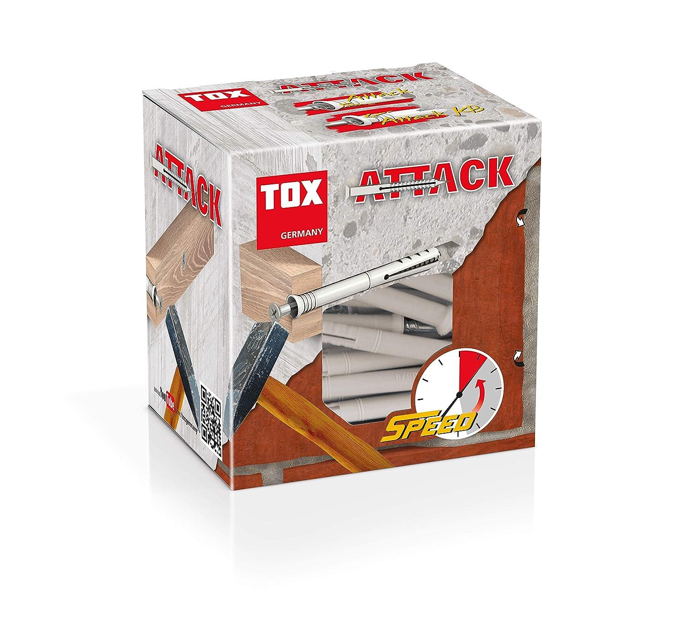TOX Taco clavo Attack 8 x 140 mm 50 piezas 017102281