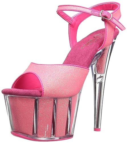Pleaser Adore 709G Ankle-Strap Sandal (Women's) xl5zqDMyV1