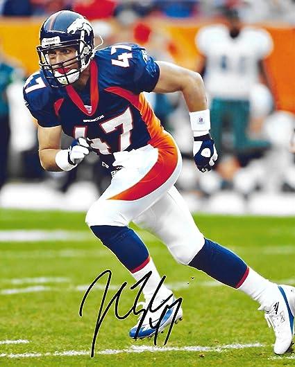 Top John Lynch, Denver Broncos, Signed, Autographed, 8X10 Photo, a COA  for sale