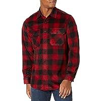 Wrangler Men's Authentics Long-Sleeve Plaid Fleece Shirt