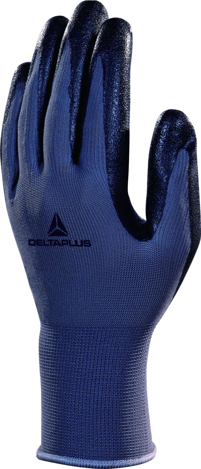 Elvex VE722 - safety gloves -nitrile foam coated - size 8