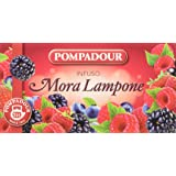 Pompadour - Infuso Mora e Lampone - 20 filtri - [confezione da 3]