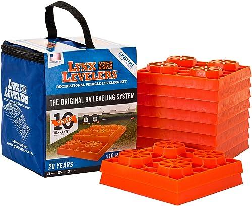 RV Jack Blocks (Orange Levelers) [Tri-Lynx] Picture