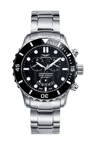 Reloj Suizo Sandoz Caballero 81395-57 Diver Collection: Amazon.es: Relojes