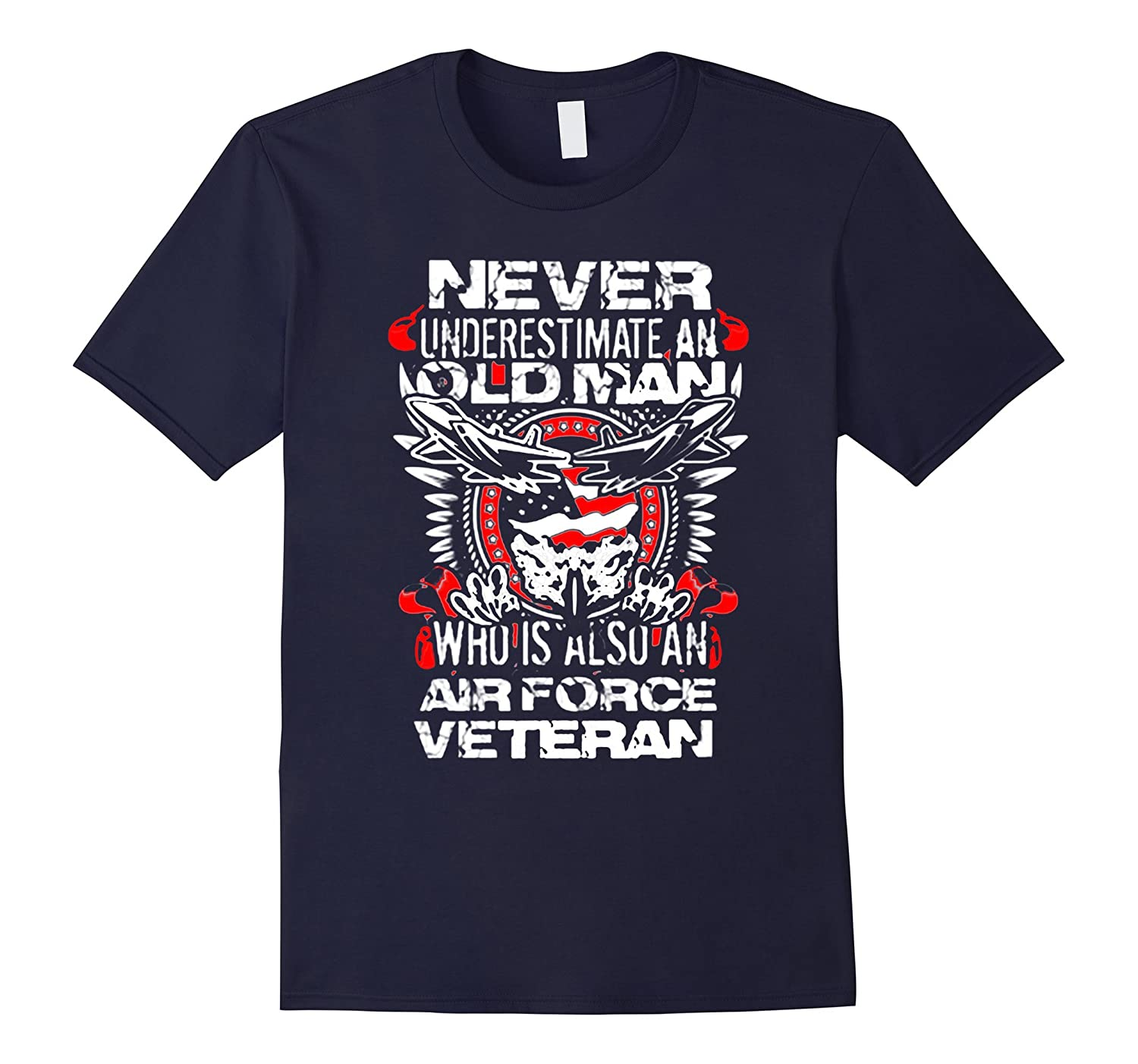 air force veteran tee old man-Vaci
