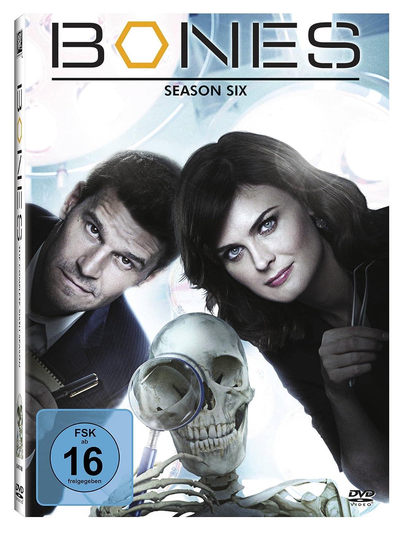 Bones Die Knochenjägerin Season 6 6 Dvds Amazonde