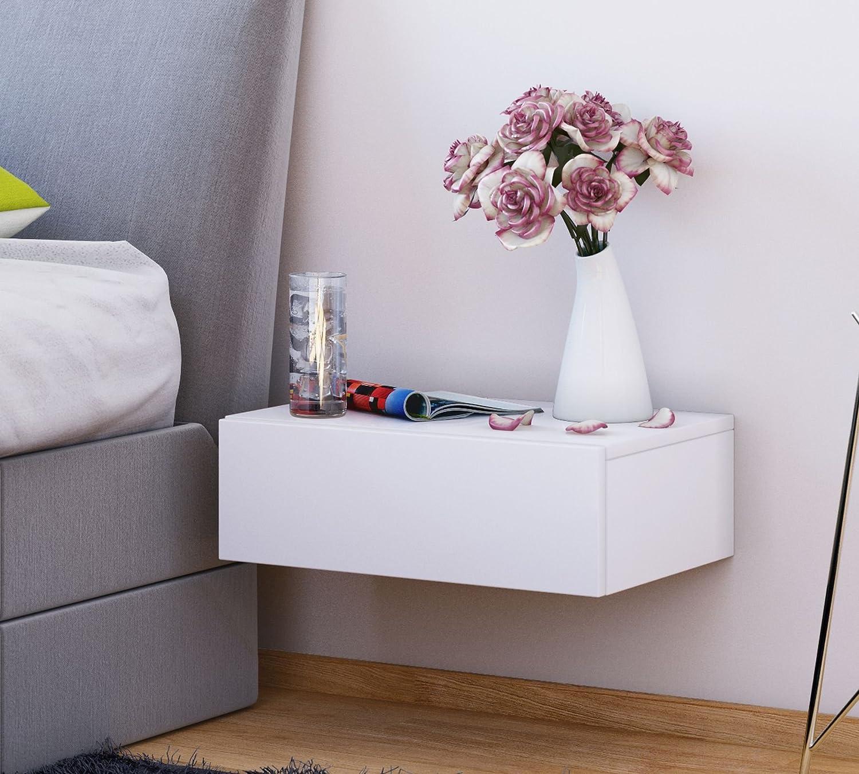 Großartig Nacht Tisch Ideen Von Vcm Wand Nachttisch Wandschublade Schublade Nachtschrank Nachtkonsole