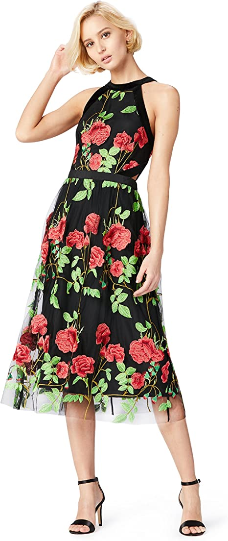 Marchio TRUTH /& FABLE Maxi Dress a Portafoglio in Chiffon Donna