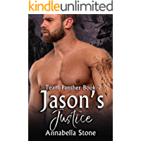 Jason's Justice: MM Military Suspense (Delta Force Team Panther Book 7) book cover