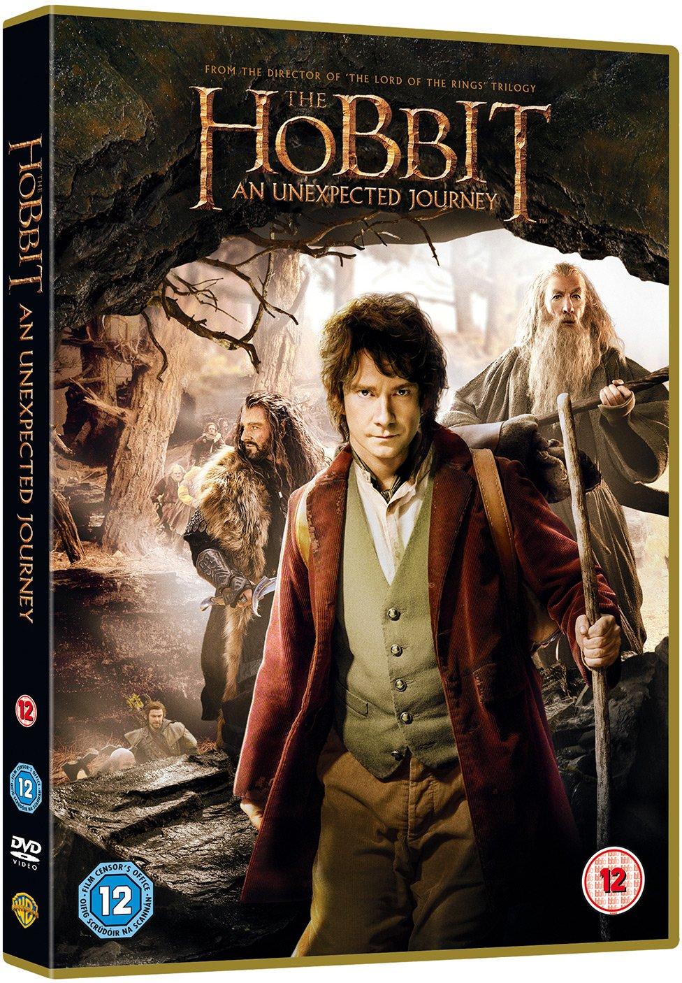 The Hobbit: An Unexpected Journey DVD + UV Copy 2013: Amazon.co.uk: Hugo  Weaving, Martin Freeman, Ian McKellen, Cate Blanchett, Richard Armitage, ...