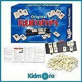Kidmoro Rummy Tile Board Game, Original 2-4 Players