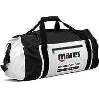 Mares 415450-BKWH MBP15 - Bolsa Impermeable con Cierre Enrollable (15 L), Color Blanco y Negro