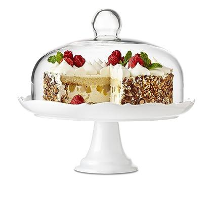 Brilliant - Bianco Pedestal Cake Plate and Dome 27cm (10.5 inches)  sc 1 st  Amazon.com & Amazon.com   Brilliant - Bianco Pedestal Cake Plate and Dome 27cm ...