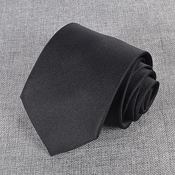 ZBPD Vestido de Negocios de Seda de Los Hombres 8.5 cm Lazo ...