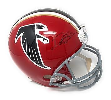 more photos 7cffd e4030 Amazon.com: Deion Sanders Atlanta Falcons Signed Autograph ...