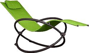 Vivere ORBL1-GA Orbital Lounger, Green Apple