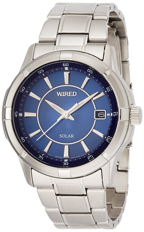 [ワイアード]WIRED 腕時計 ソーラー ハードレックス 10気圧防水 AGAD067 メンズ B01B2IA1Z2