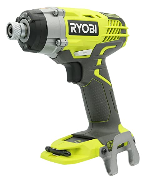 Ryobi P237 18V One+ Lithium Ion Cordless Multi Speed 1-1/4 Inch Keyless  Chuck Impact Driver w/ Belt Clip and LED (Battery Not Included / Power Tool