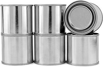Amazon Com Cornucopia Metal Paint Cans With Lids 1 4 Pint Size 6 Pack Tiny Empty Unlined Quarter Pint Paint Pails 1 2 Cup Capacity Home Improvement
