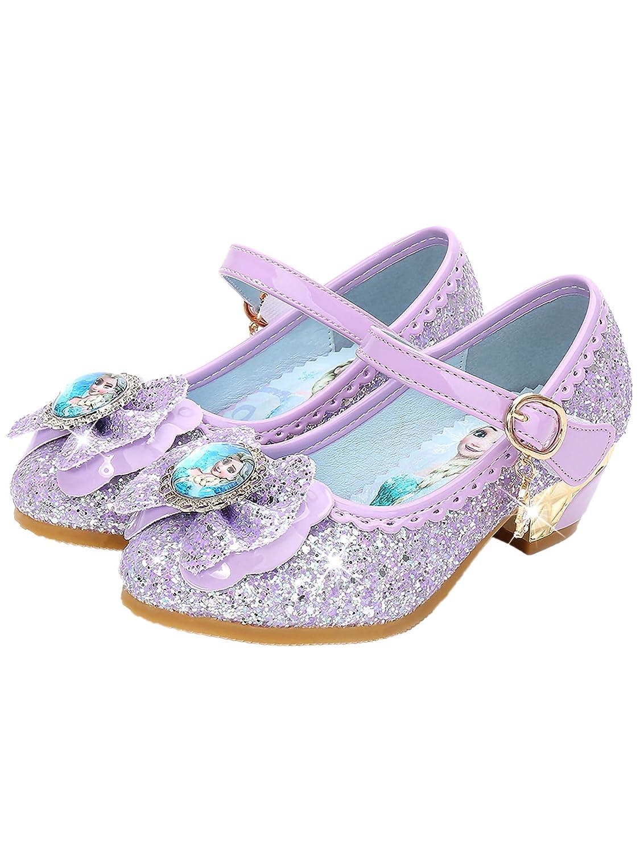 YONIER Principessa Scarpe Festive Scarpe col Tacco da Principessa per Bambina Buona qualit/à Partito Scarpe Principessa Scarpe Eleganti