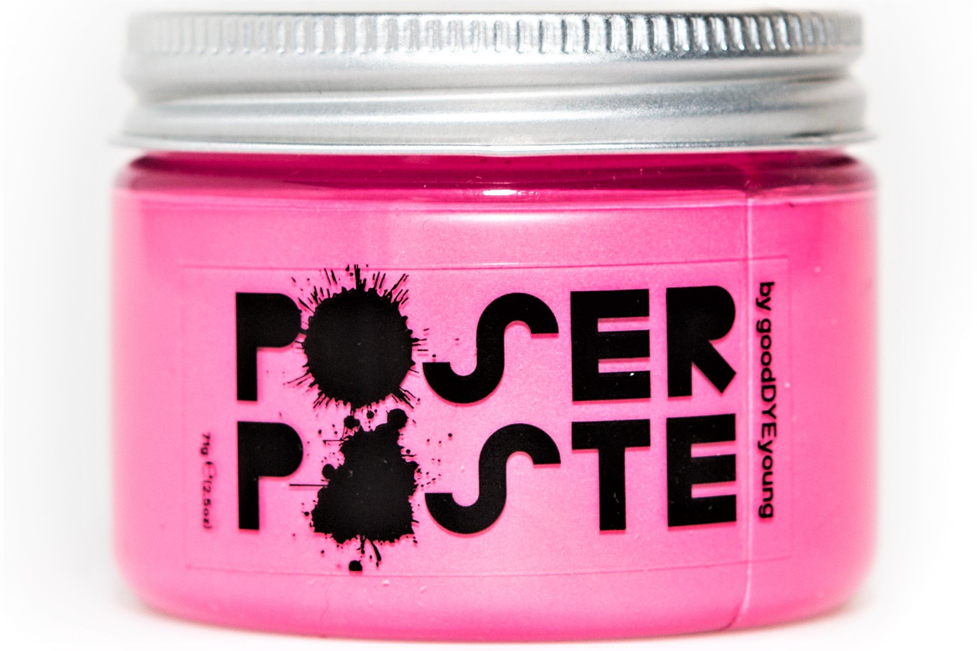Good Dye Young Poser Paste Hair Makeup (temp hair color) (EX-GIRL PINK) 2.5oz by Good Dye Young
