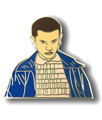 Eleven (011) Hard Enamel Collectoru0027s Pin    Inspired By Stranger Things