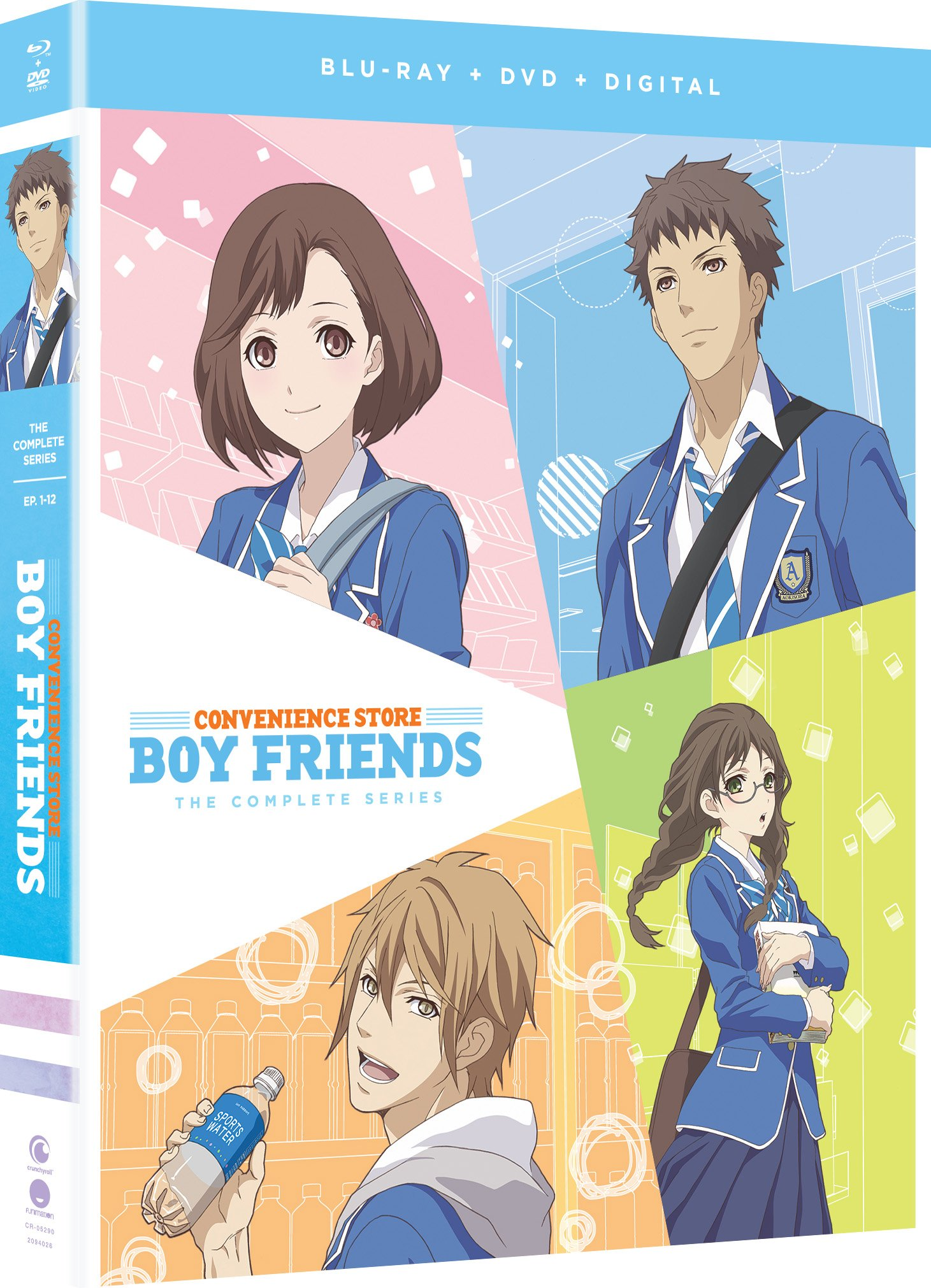 Blu-ray : Convenience Store Boy Friends: The Complete Series (With DVD, Boxed Set, Subtitled, Snap Case, Slipsleeve Packaging)
