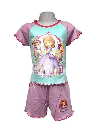 6406461df6 GIRLS KIDS DISNEY SOFIA THE FIRST PRINCESS SHORTIE PYJAMAS NIGHTWEAR  T-Shirt Shorts -