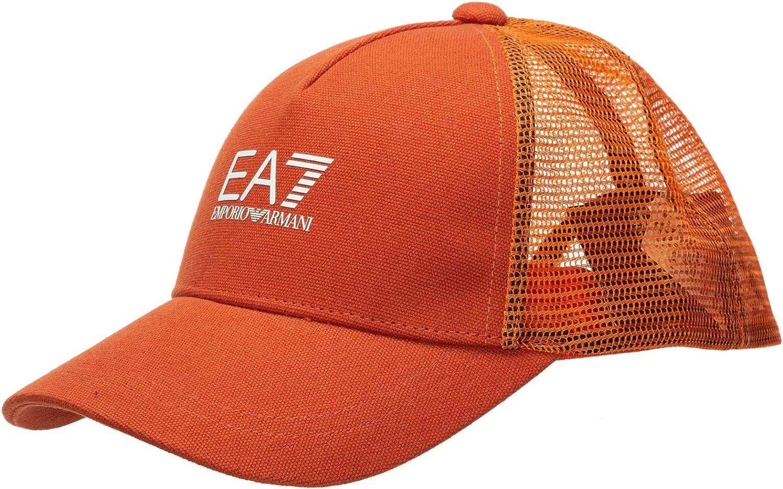 Emporio Armani EA7 Hombre Gorras Arancio: Amazon.es: Ropa y accesorios
