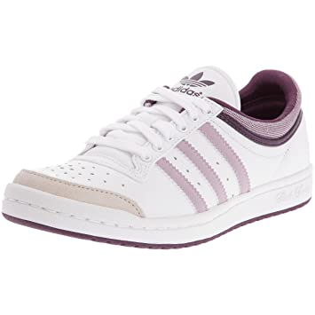 28097f8b6d30c adidas Top Ten Low Sleek Women Leisure Shoe - White Light Purple Mauve