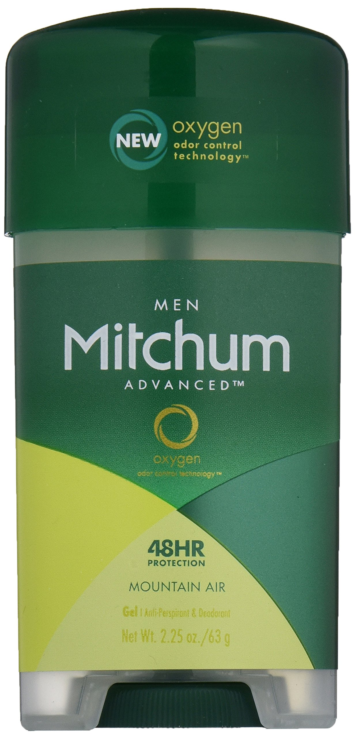 Mitchum Clear Gel Antiperspirant and Deodorant Mountain Air Scent 2.25 oz.