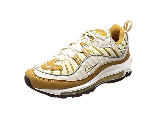 Nike Damenschuhe Turnschuhe AIR MAX 98 in weiß und braun
