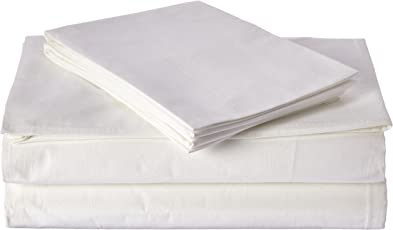 DaDa Bedding FS-098765 4-Piece Cotton Flat and Fitted Sheet Set, Queen