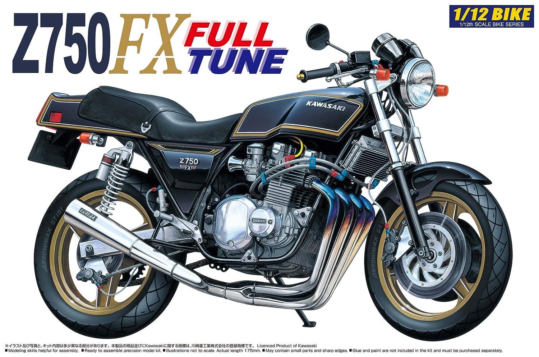 Amazon Aoshima 1 12 Kawasaki Z750FX Full Tune Toys Games