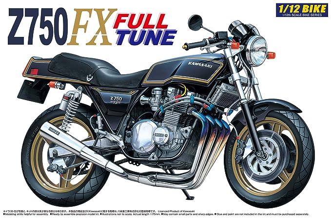 Aoshima 1 12 Kawasaki Z750FX Full Tune