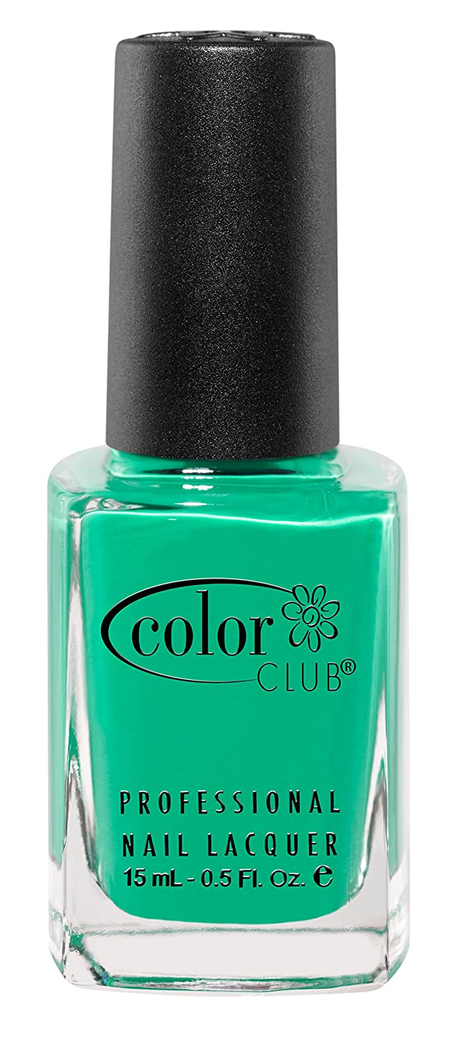Amazon.com : Color Club Poptastic Neons Nail Polish, Green, Edie ...