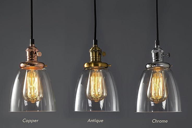 Lampadari con lampadine vintage ap59 pineglen for Lampade design
