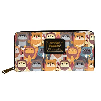 Star Wars Monedero Ewok Invasión Loungefly 20.5x10x2.5cm ...
