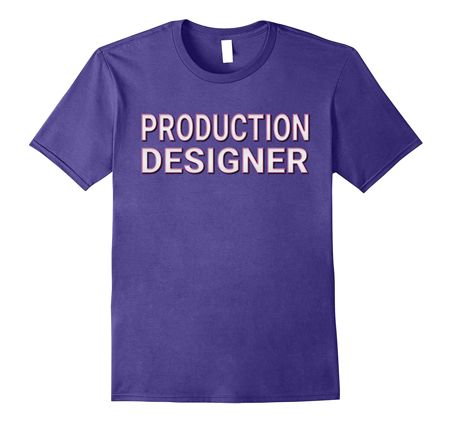Production Designer Matching Film Crew TV Set T Shirts-PL