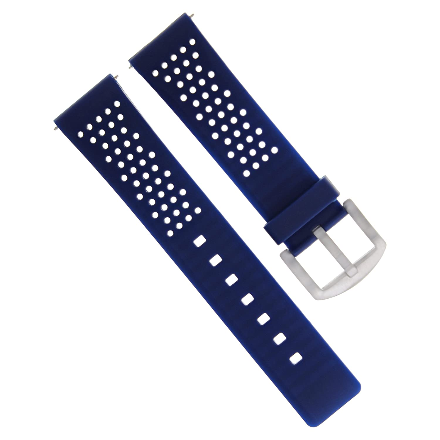 20 mm Soft Rubber Band Strap for Invicta Russian 1959ダイバー自動ブルー4p  B07D6PTWJ7