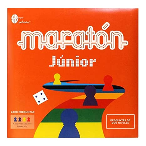 Amazon Com Junior Marathon Board Game Original Edition Maraton